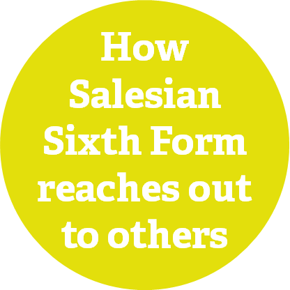 How Salesian Sixth Form Reaches Out to Others